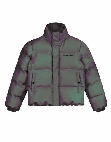 Daily Paper Core Puffer jacket - green/purple reflective DAILY PAPER Bomber 286,89 € -15%