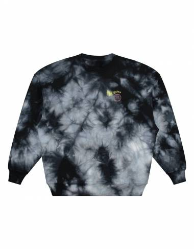 Daily Paper Gimtidy crew sweater - tie dye black/white DAILY PAPER Sweater 127,05 € -15%