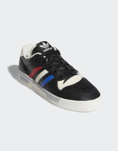 Adidas Originals Rivalry low - Core black /Cloud white/cream white Adidas Originals Sneakers 81,97 € -15%