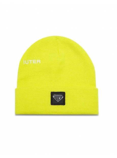 Iuter logo fold beanie - Neon Yellow IUTER Beanie 28,69€ -15%