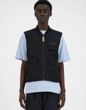 Daily Paper Husam vest - black DAILY PAPER CLOTHING 106,56 €