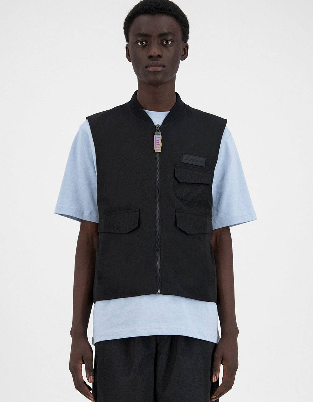 Daily Paper Husam vest - black DAILY PAPER CLOTHING 114,75€