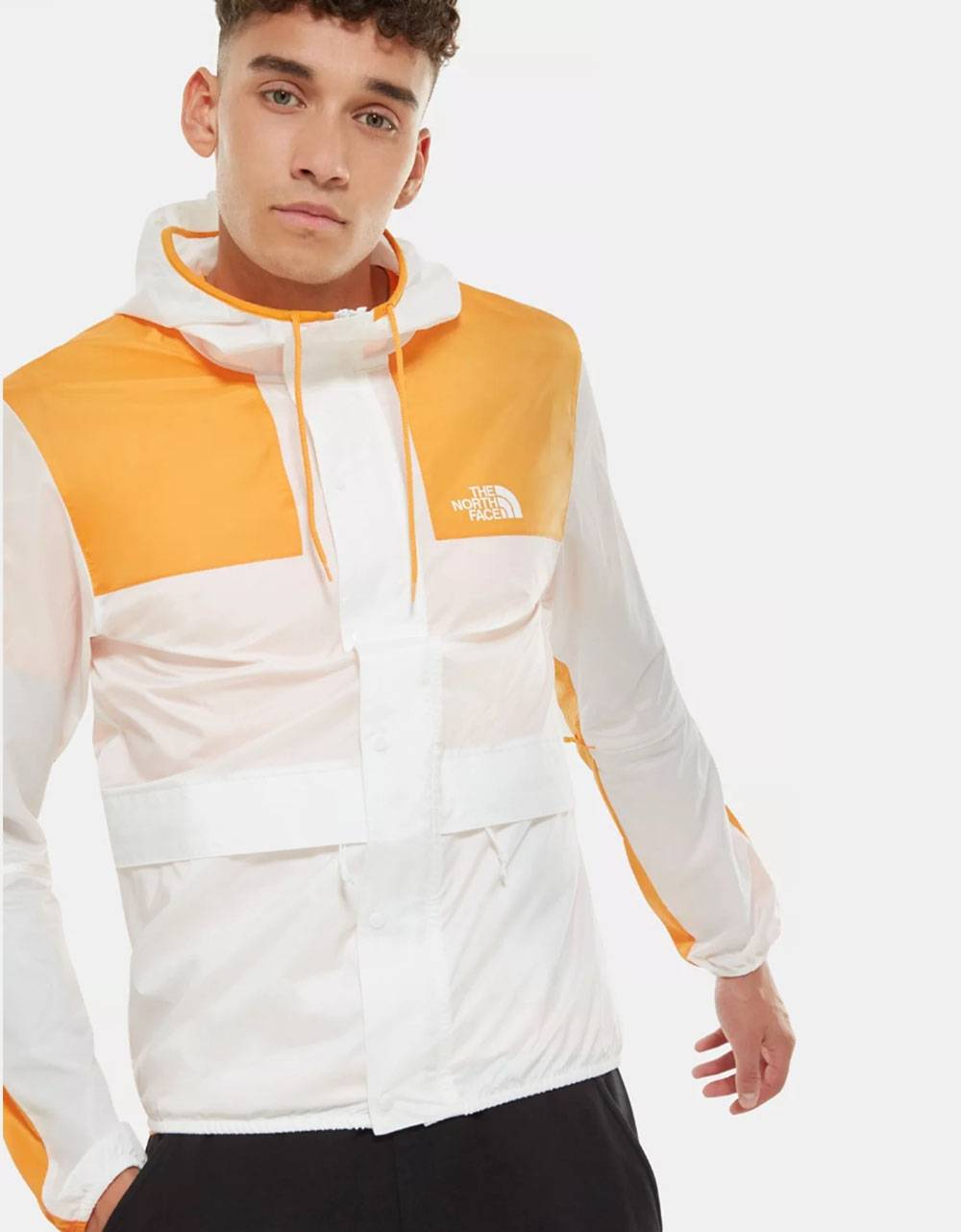 The North Face 1985 Mountain jacket - Tnf white / flame orange THE NORTH FACE Light jacket 95,08 €