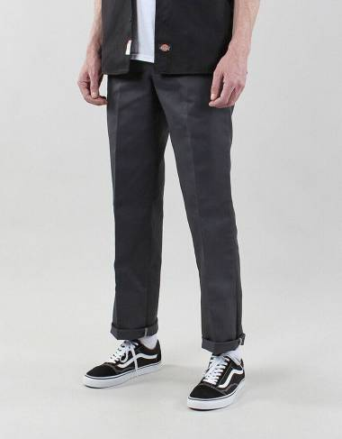Dickies Slim straight work pant 873 - Charcoal grey Dickies Pant 62,30 €