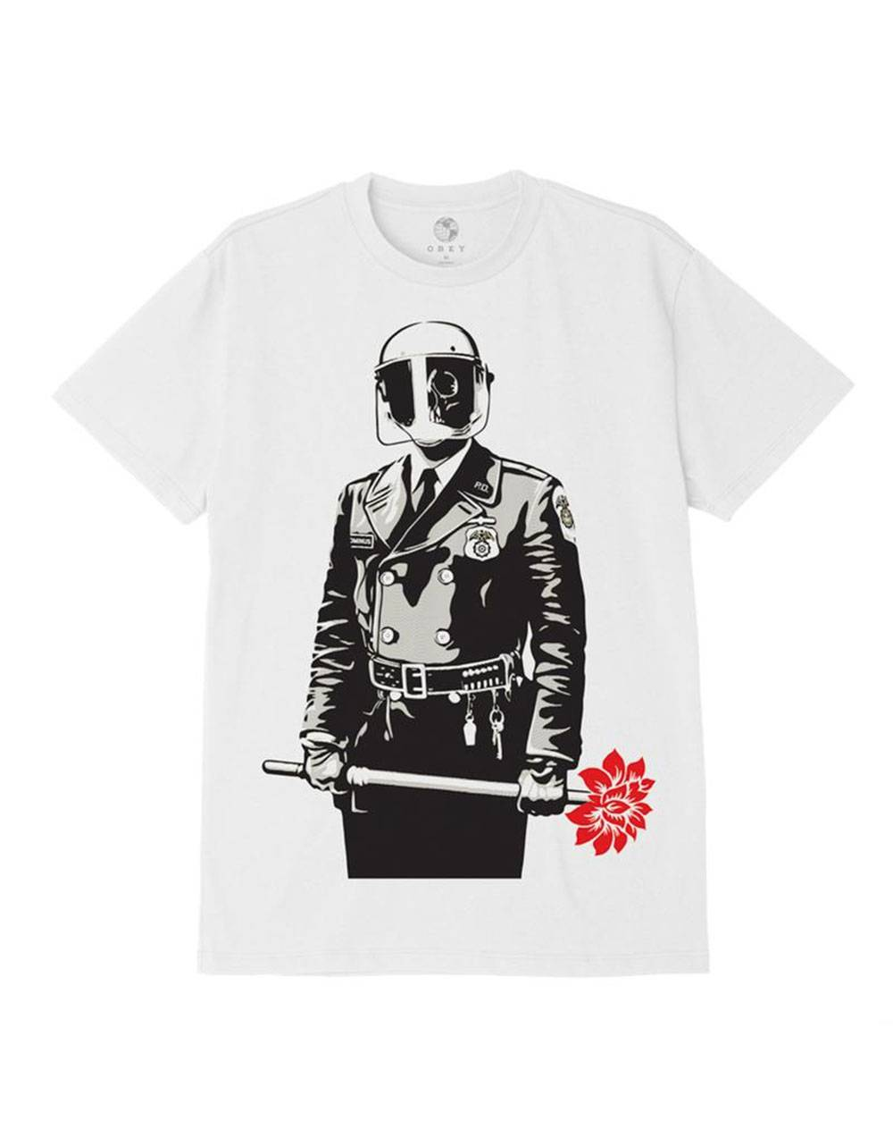 Obey sadistic florist sustainable tee - cream obey T-shirt 45,00 €