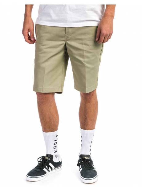 Dickies Slim straight work shorts - khaki Dickies Shorts 55,00 €