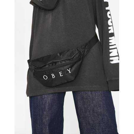 Obey Woman drop out waistpack - black obey Bags 36,89€