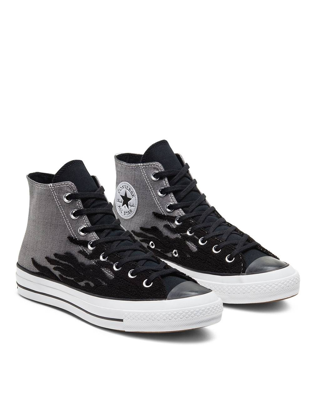 Converse Archive Flames Chuck 70 High Top - Black/grey Converse Sneakers 106,00 €