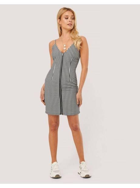 NA-KD by Nicole Mazzoccato checkered mini dress - checkered NA-KD Dress 45,90€