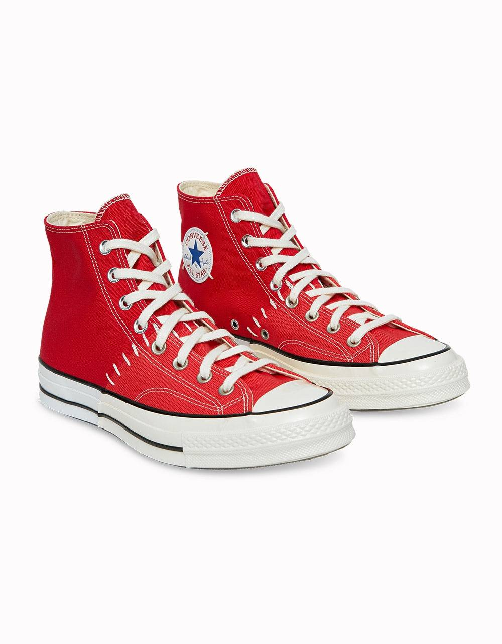 Converse Woman Chuck Taylor 70 Recostructed High ltd - red/sedona red/egret Converse Sneakers 142,00€
