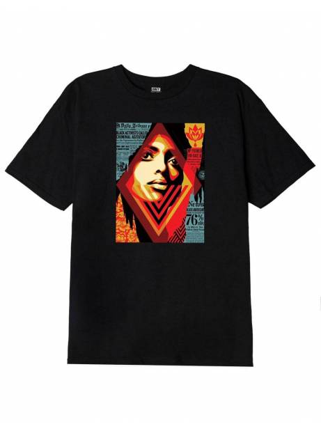 Obey bias by numbers tee - black obey T-shirt 37,70 €