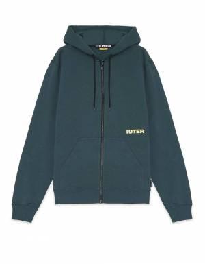 Iuter Double logo zip hoodie - Forest IUTER Sweater 86,07€