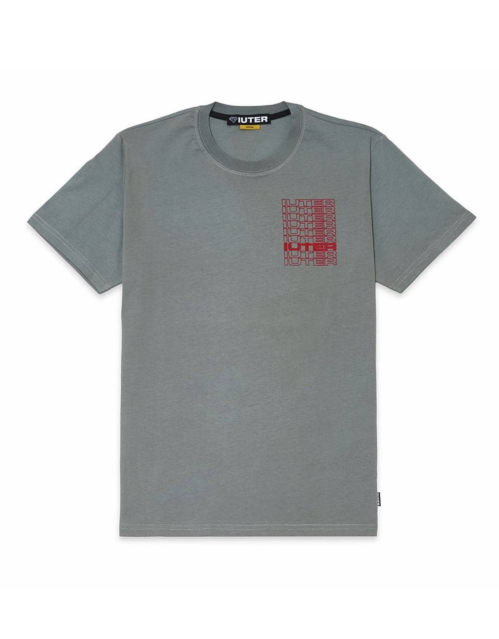 Iuter spine tee - grey IUTER T-shirt 42,00 €