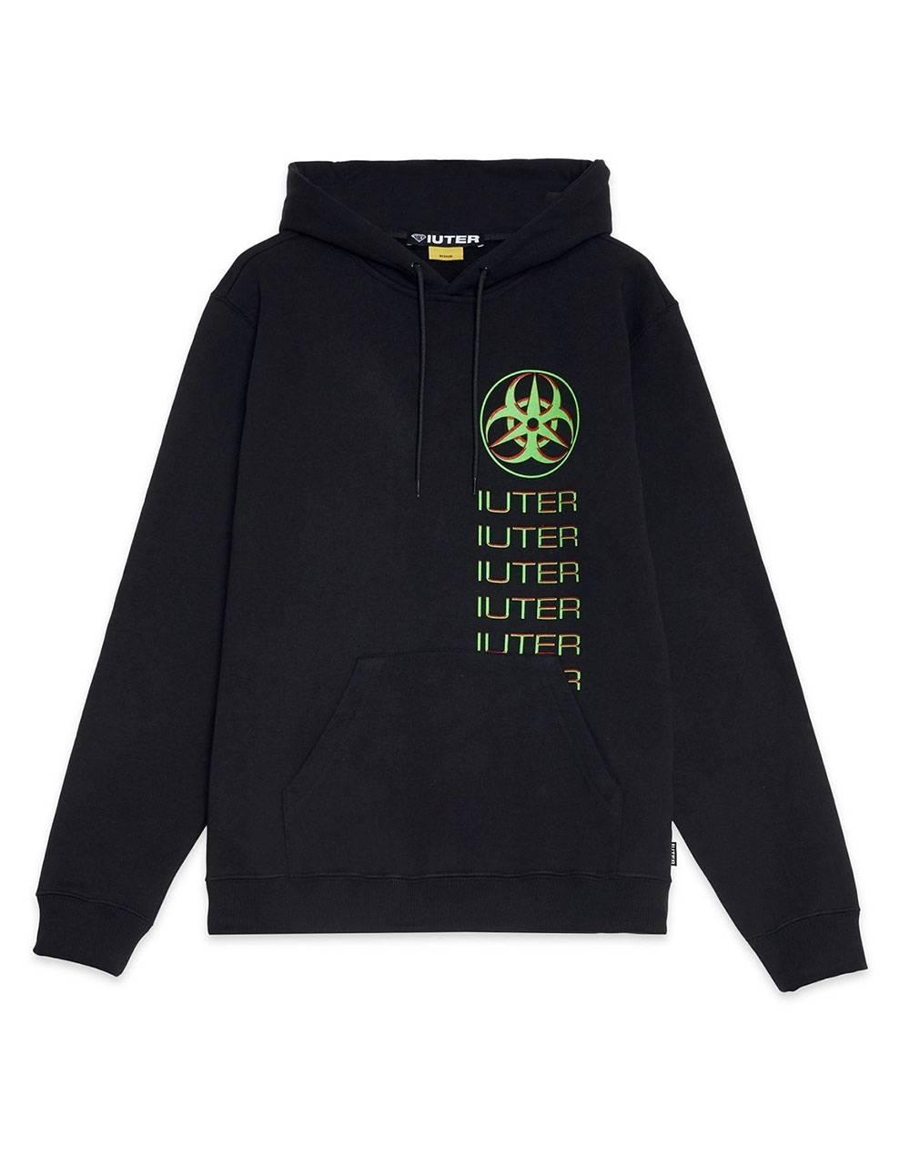 Iuter Toxic hoodie - Black IUTER Sweater 95,00€