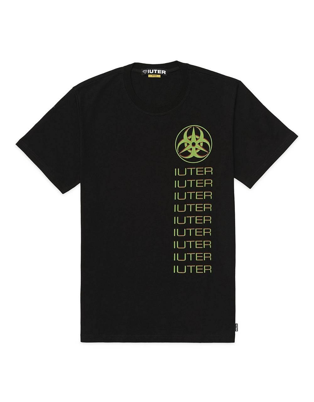 Iuter Toxic tee - Black IUTER T-shirt 40,00€