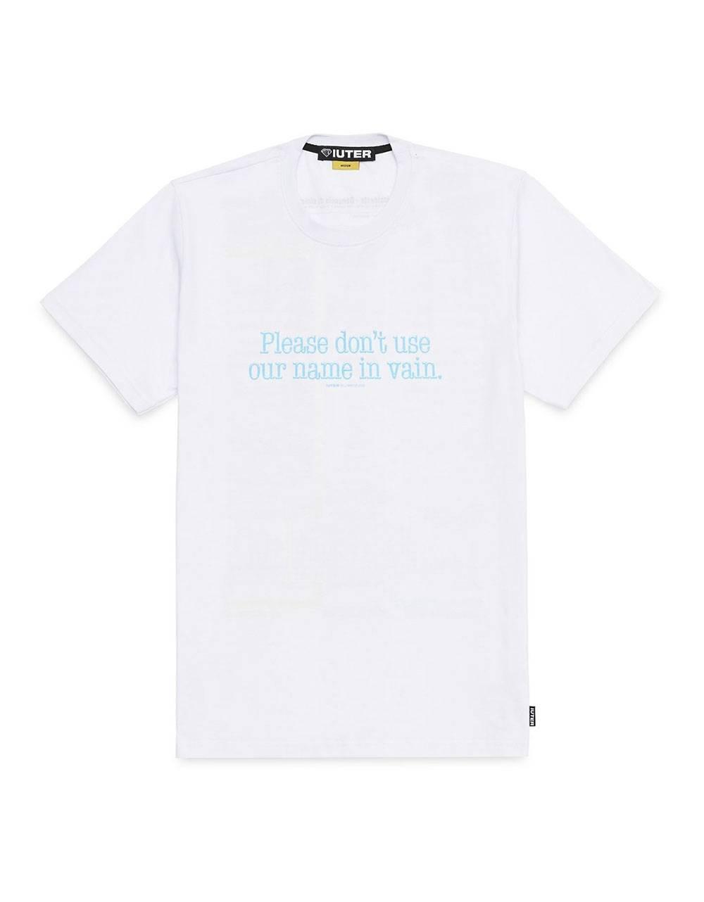 Iuter troubles tee - White IUTER T-shirt 45,00€