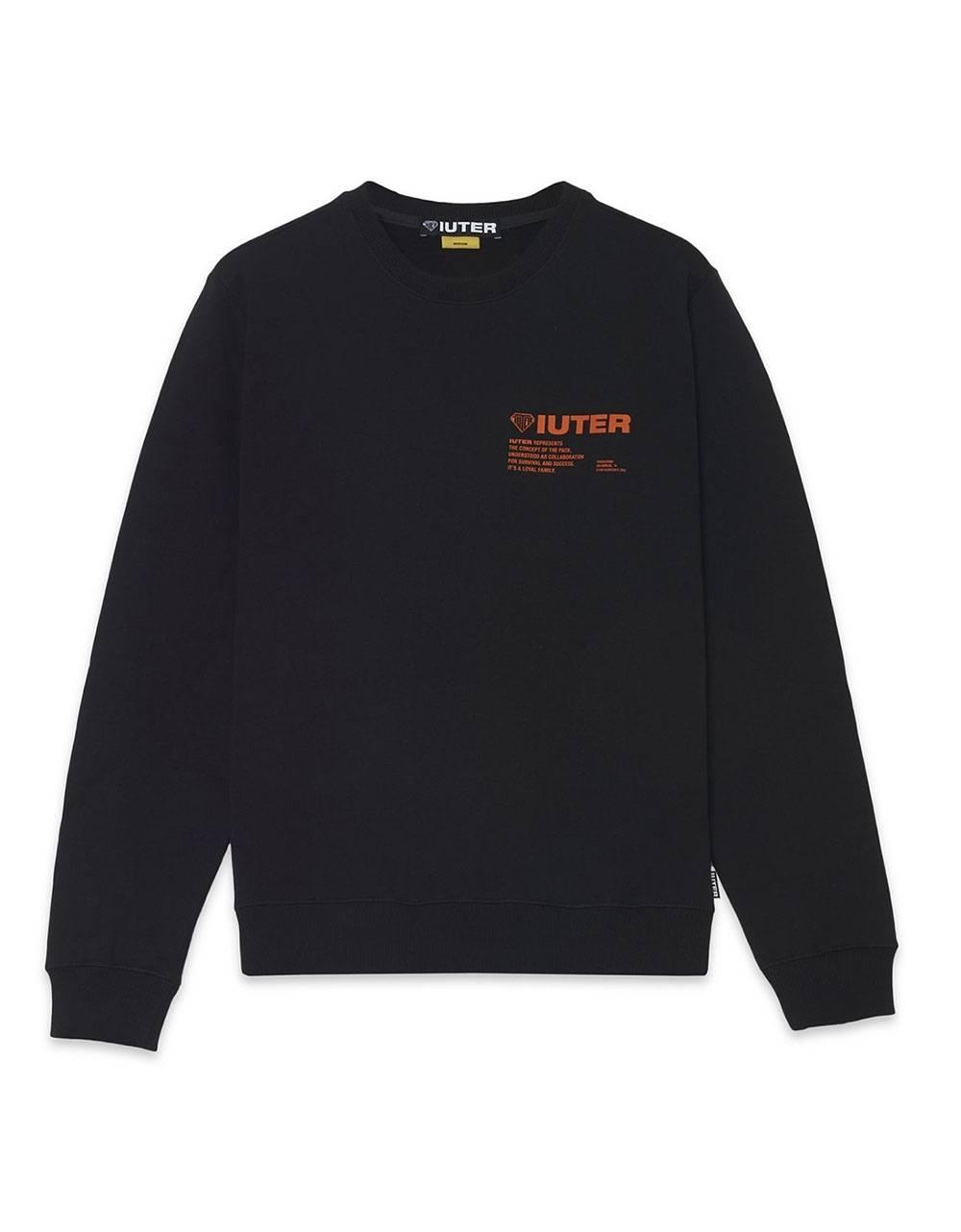 Iuter Info crewneck sweater - Black IUTER Sweater 85,00€