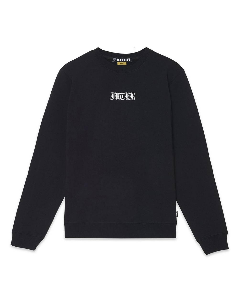 Iuter Noone crewneck sweater - Black IUTER Sweater 89,00€
