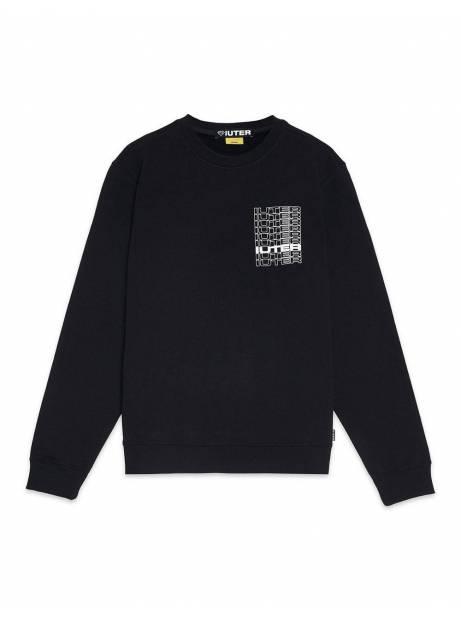 Iuter Spine crewneck sweater - Black IUTER Sweater 89,00€