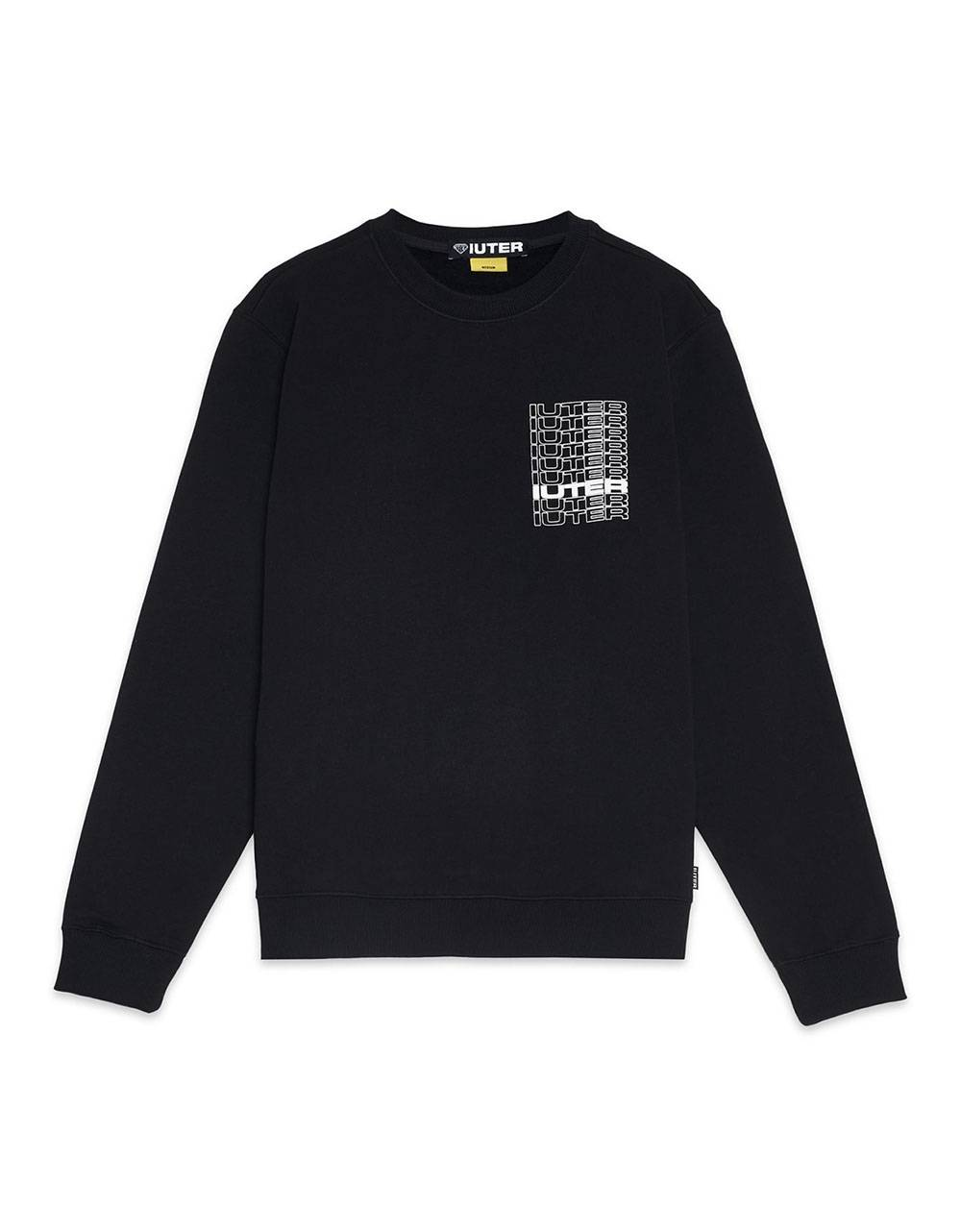 Iuter Spine crewneck sweater - Black IUTER Sweater 89,00 €