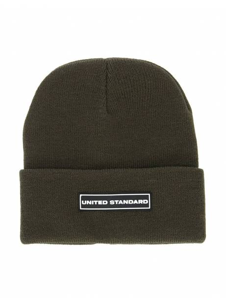 United Standard box logo beanie - military United Standard Beanie 65,00 €