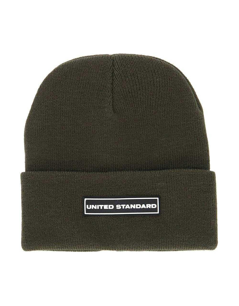 United Standard box logo beanie - military United Standard Beanie 53,28€