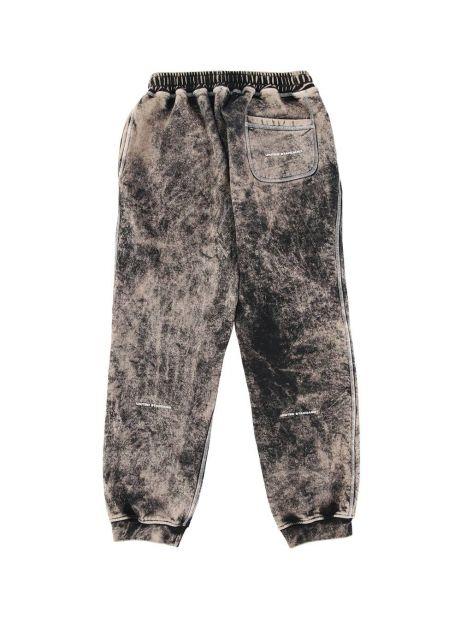 United Standard glitch logo sweatpants - acid black United Standard Pant 225,00€