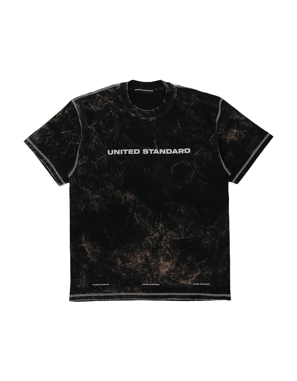 United Standard glitch logo t-shirt - black United Standard T-shirt 77,87€