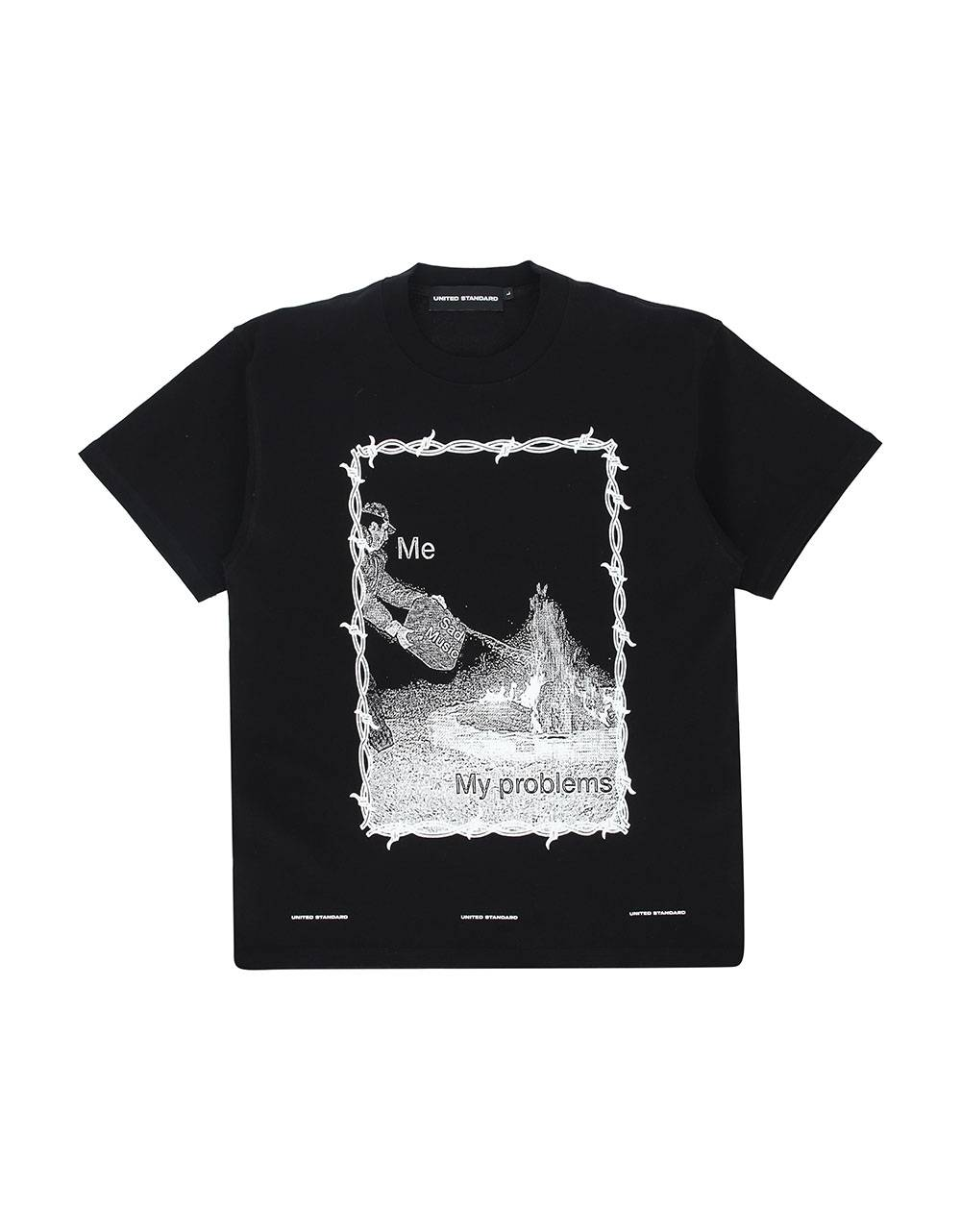 United Standard sad music t-shirt - black United Standard T-shirt 85,00€