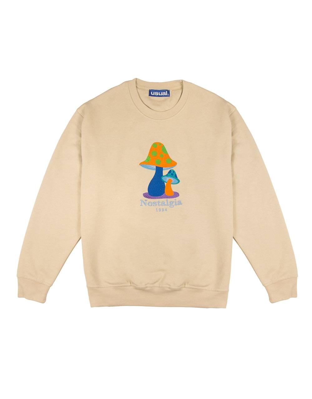 Usual Nostalgia magia crewneck sweater - Cream Usual Sweater 89,34€