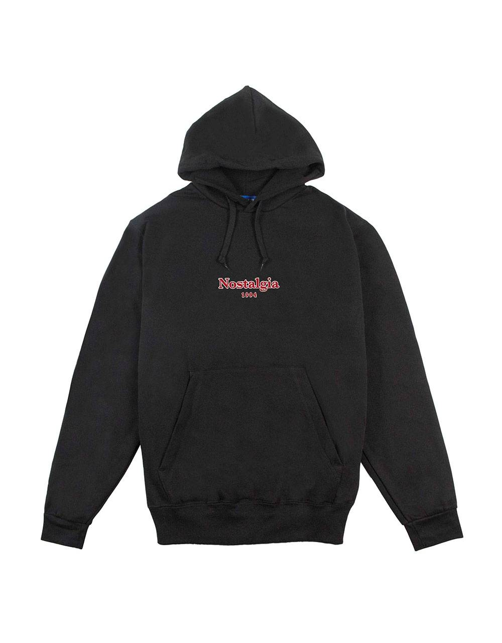 Usual Nostalgia outline hoodie - Black Usual Sweater 100,00 €