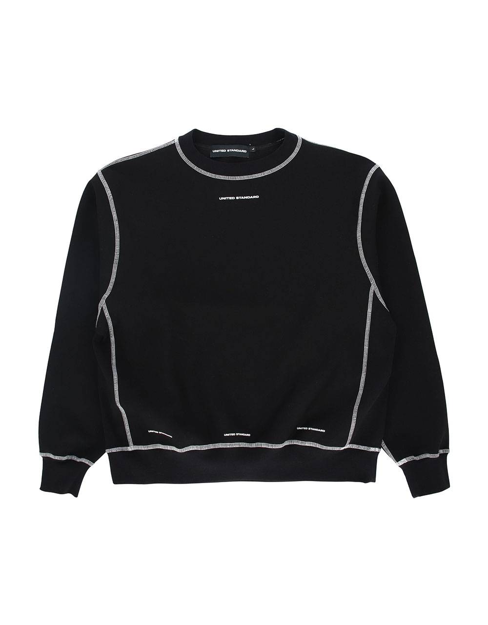 United Standard Logo crewneck sweater - black United Standard Sweater 135,25 €
