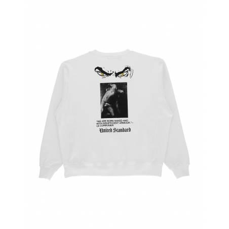 United Standard Rip crewneck sweater - white United Standard Sweater 151,64€