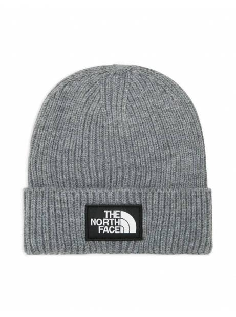 The North Face box logo cuff beanie - tnf medium grey THE NORTH FACE Beanie 35,00 €
