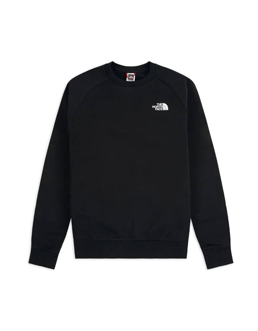 The North Face raglan red box crewneck sweater - Black/red THE NORTH FACE Sweater 75,41 €