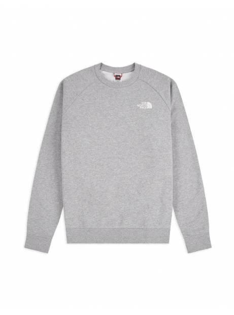 The North Face raglan red box new crewneck sweater - light grey THE NORTH FACE Sweater 85,00€
