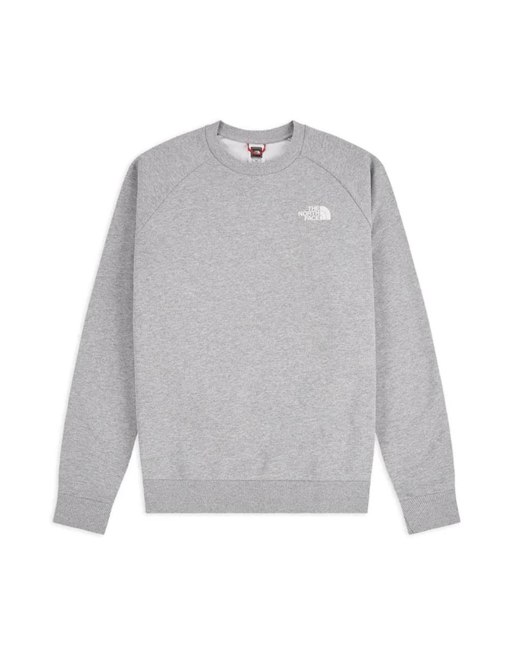 The North Face raglan red box new crewneck sweater - light grey THE NORTH FACE Sweater 92,00 €