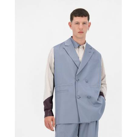 Daily Paper Jether vest - greyblue DAILY PAPER Jacket 139,34€