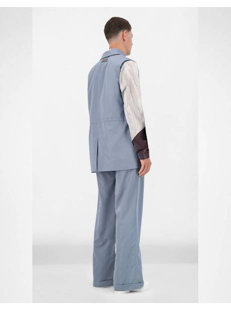 Daily Paper Jether vest - greyblue DAILY PAPER Jacket 170,00€