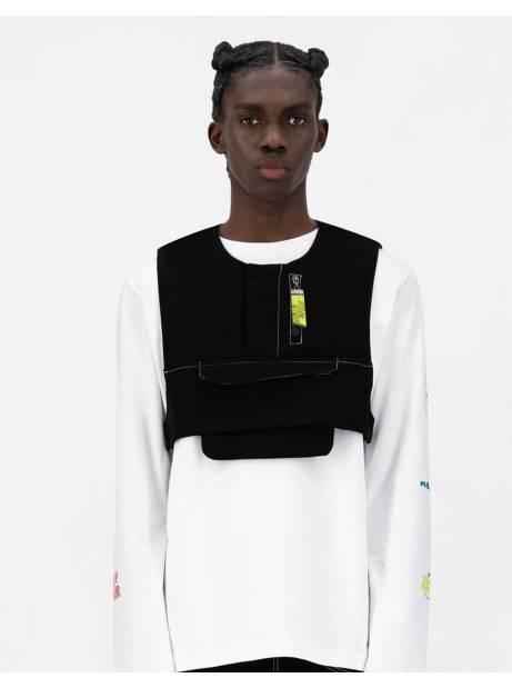 Daily Paper Jone vest - black DAILY PAPER Jacket 110,66€