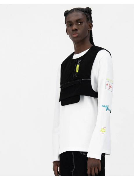 Daily Paper Jone vest - black DAILY PAPER Jacket 135,00€