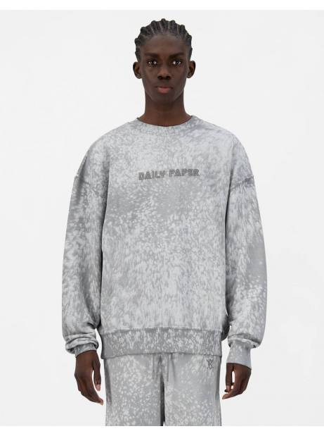 Daily Paper Jerspla crewneck sweater - grey violet DAILY PAPER Sweater 170,00 €