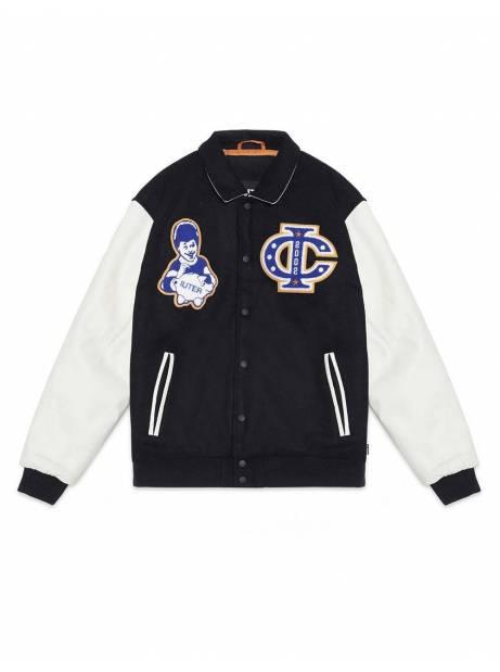 Iuter Fraternity varsity patch jacket - black IUTER Jacket 299,00€