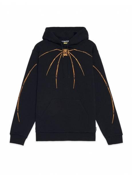 Iuter Widow embroidered hoodie - black IUTER Sweater 125,00€