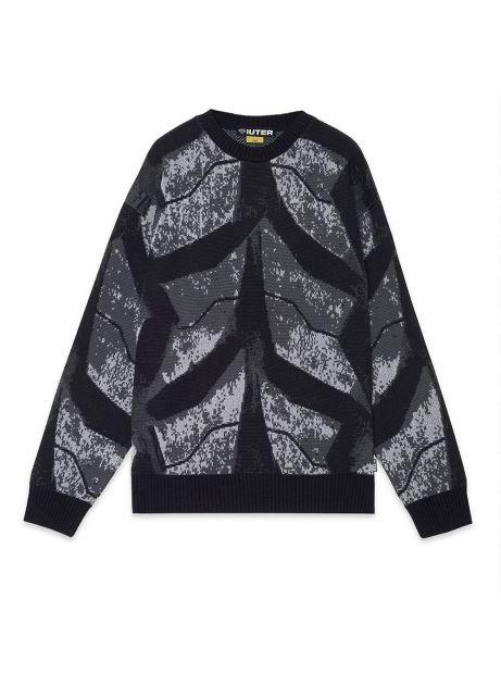 Iuter Tires knitted jumper - grey IUTER Knitwear 156,00€