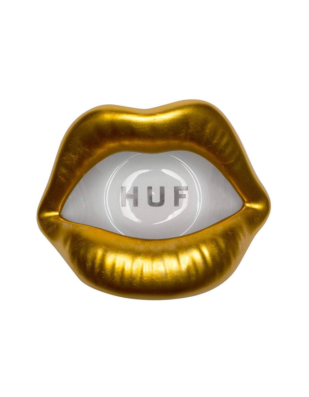 Huf Lips ashtray - gold Huf ACCESSORIES 36,89 €