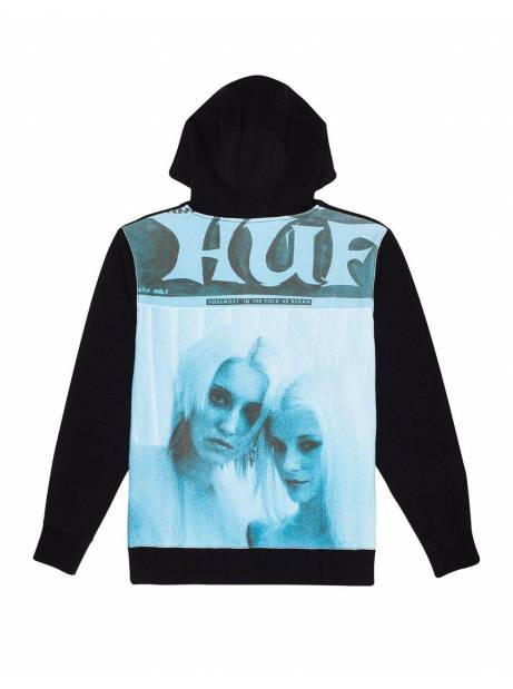 Huf Vivid P/O fleece - black Huf Sweater 102,46 €