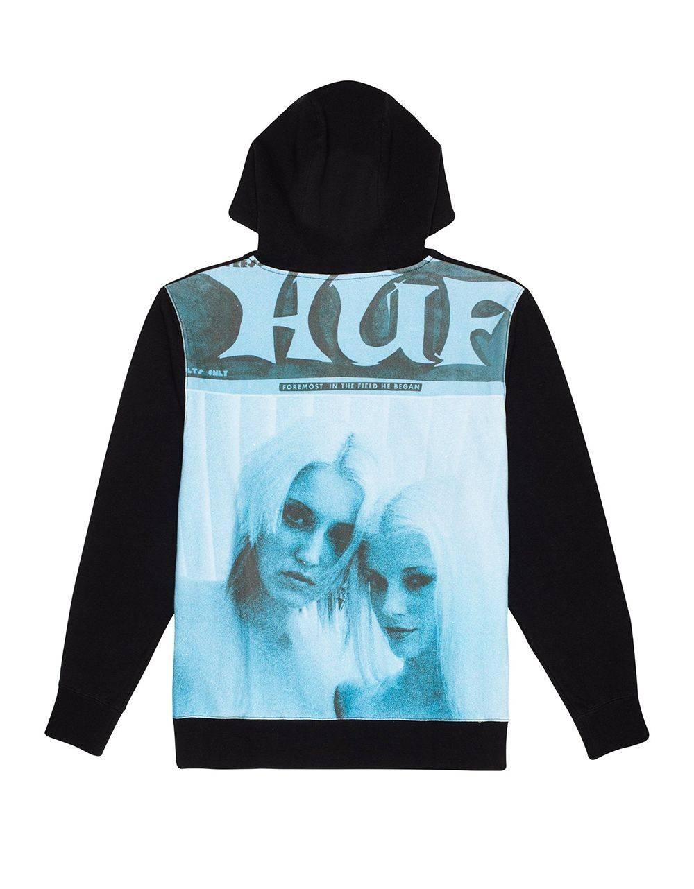 Huf Vivid P/O fleece - black Huf Sweater 125,00€