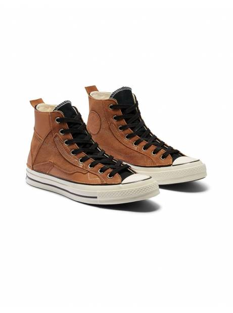 Converse Leather patchwork Chuck 70 High Top - ecru leather Converse Sneakers 143,44 €
