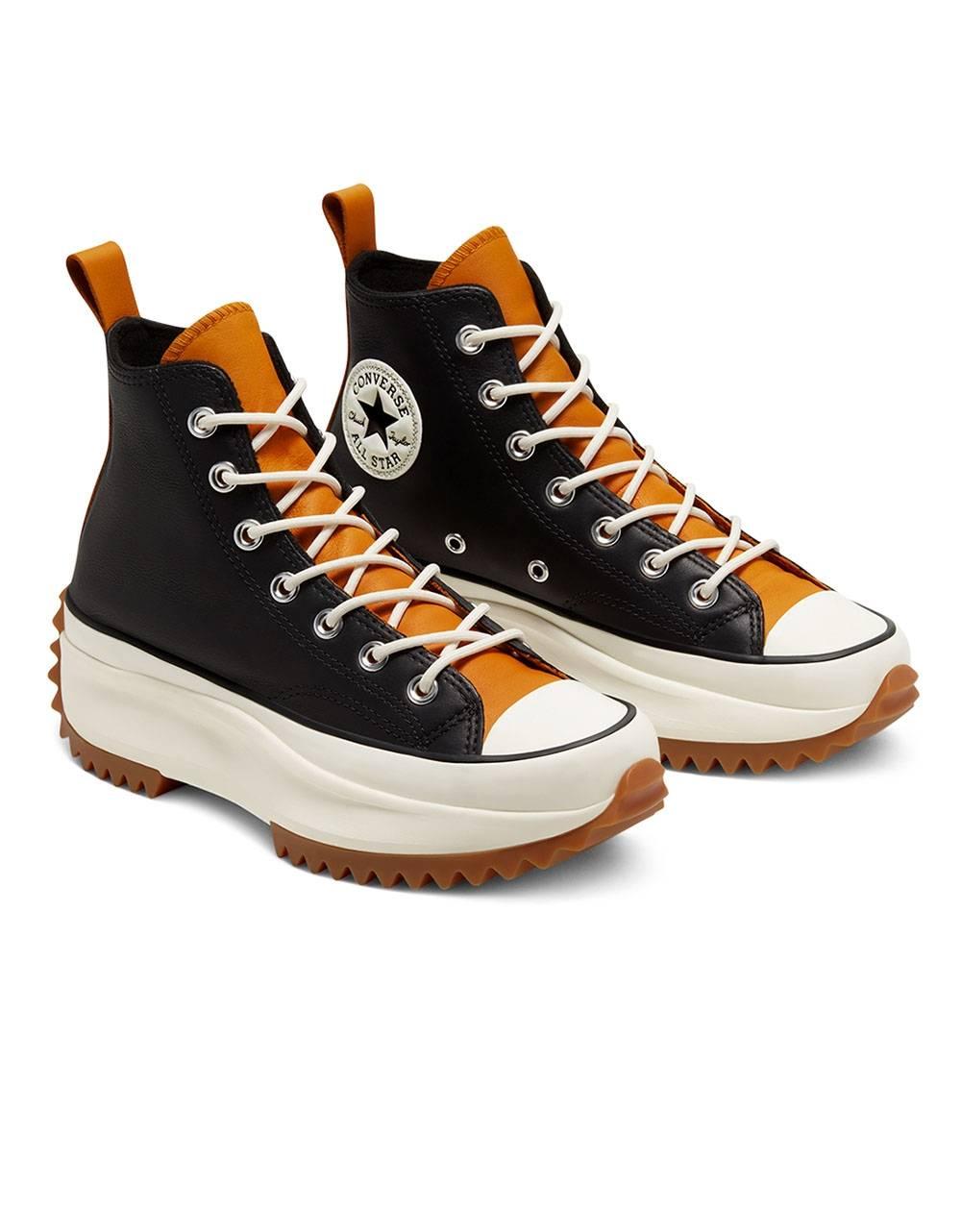 Converse Woman Run Star Hike high top - black/saffron yellow/egret Converse Sneakers 113,93€